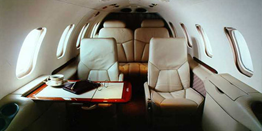 Executive Jet - Light - Bombardier Learjet 31 Cabin