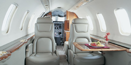 Executive Jet - Super Light - Bombardier Learjet 45 Cabin