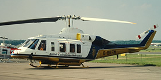 Helicopter - Bell 214ST