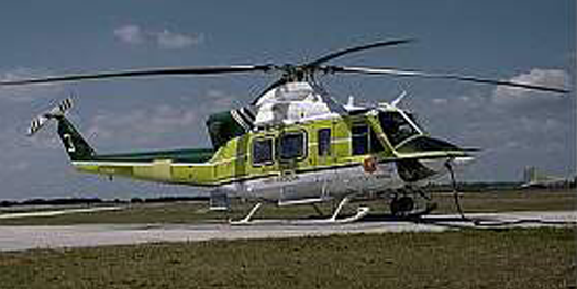 Helicopter - Bell 412