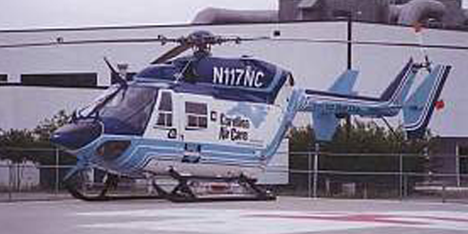 Helicopter - MBB Eurocopter BK117